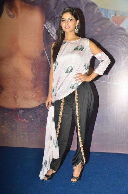 Vaibhavi Shandilya Stills At Sakka Podu Podu Raja Trailer Launch