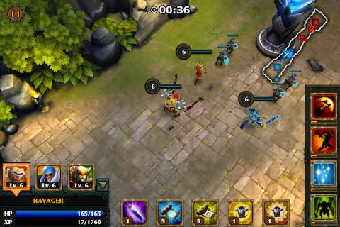 Game: LEGENDARY HEROES Unlimited Gold 1.7.0 APK + DATA Direct Link