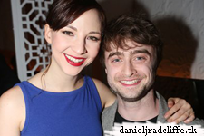 Daniel Radcliffe attends The Spoils opening night - after party