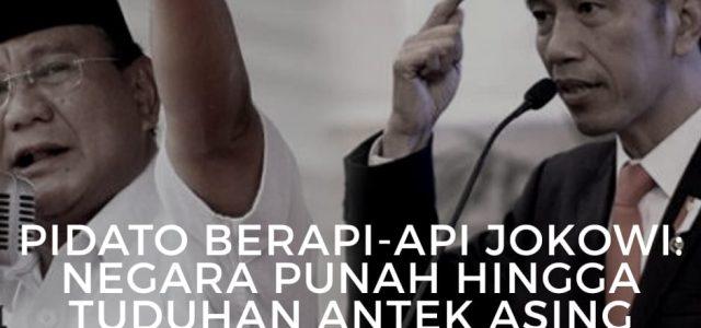 Presiden Jokowi Menyatakan Pembangunan Infrastruktur Merupakan Fondasi Yang Penting Bagi Negara Untuk Berkompetisi