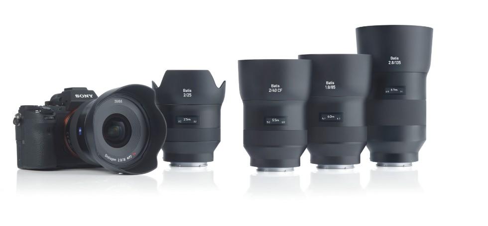 Семейство оптики Zeiss Batis