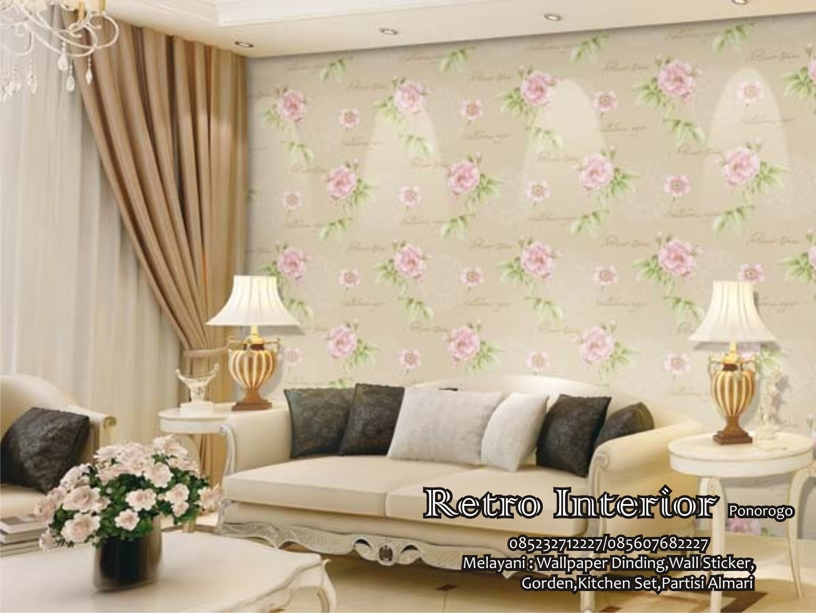 Retro Wallpaper Dinding Wa 081335372227 Tlp 085232712227 Januari 2016