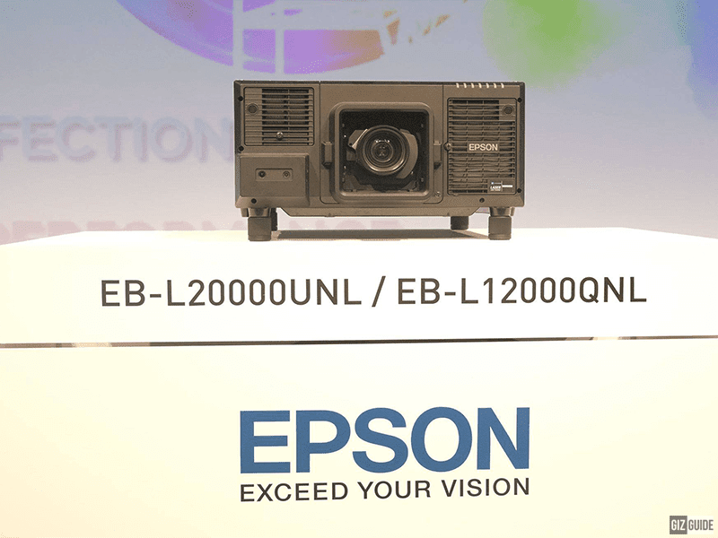 Epson announces the first-ever lumen native 4K 3LCD laser projector, the EB-L12000Q