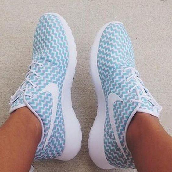Nike Purple Chevron Shoes