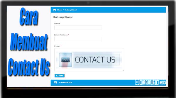 Cara Simpel Membuat Contact Us Untuk Blogger