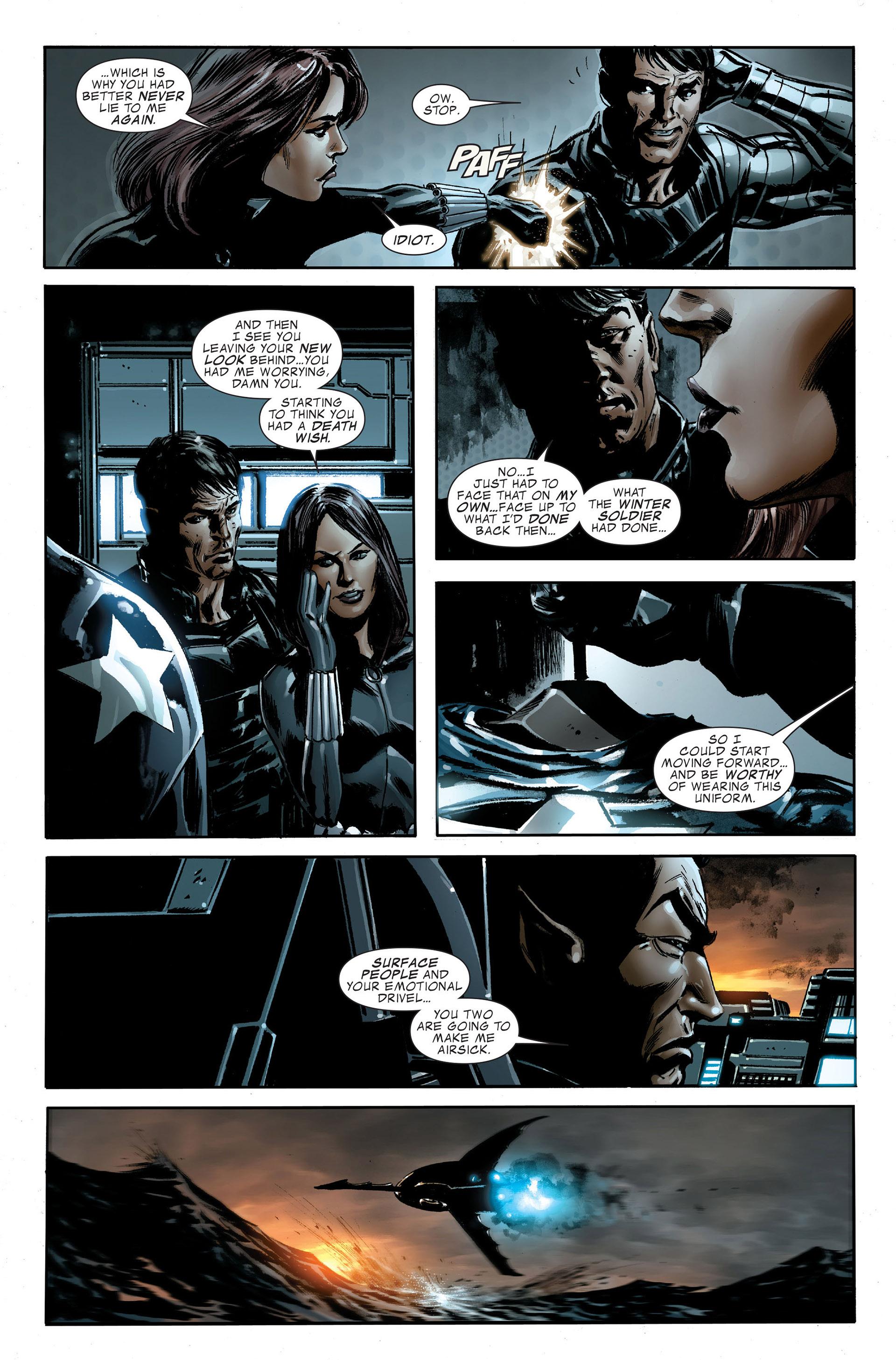 Read online Captain America (2005) comic -  Issue #48 - 22