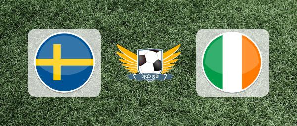 ايرلندا والسويد بث مباشر