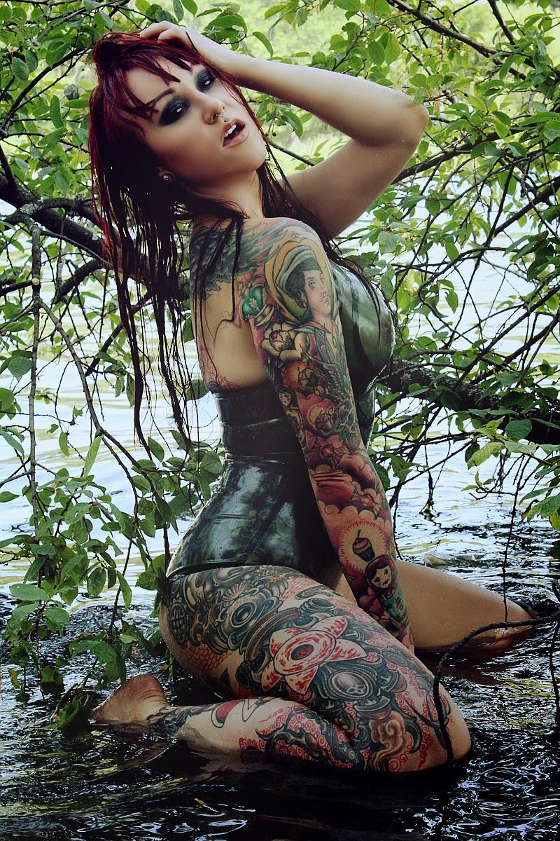 Elegy Ellem  Sexy Tattooed Girls