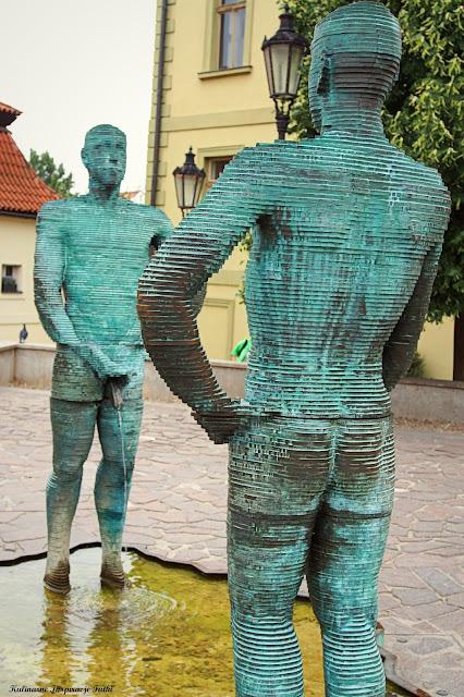David Černý rzeźba
