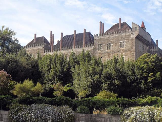 Palacio de los Duques en Guimaraes