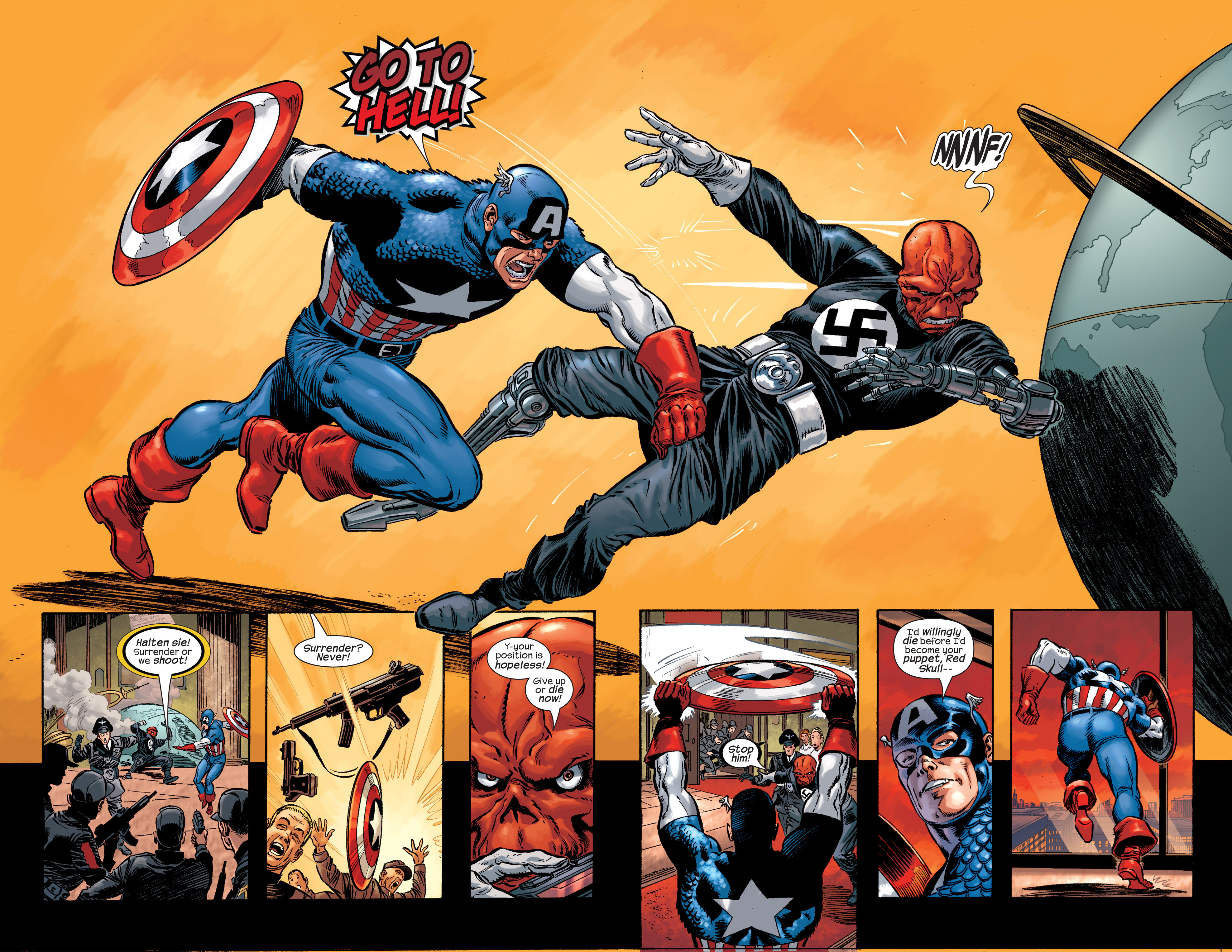 Captain America (2002) Issue #17 #18 - English 23