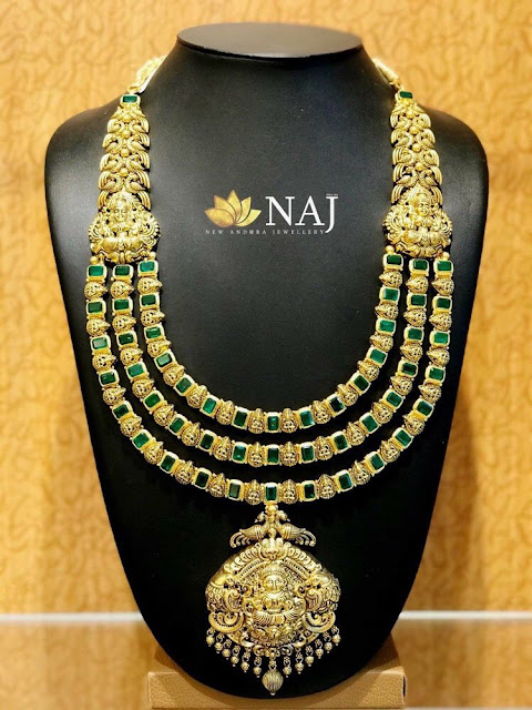 Three Layer Emerald Haram by Naj