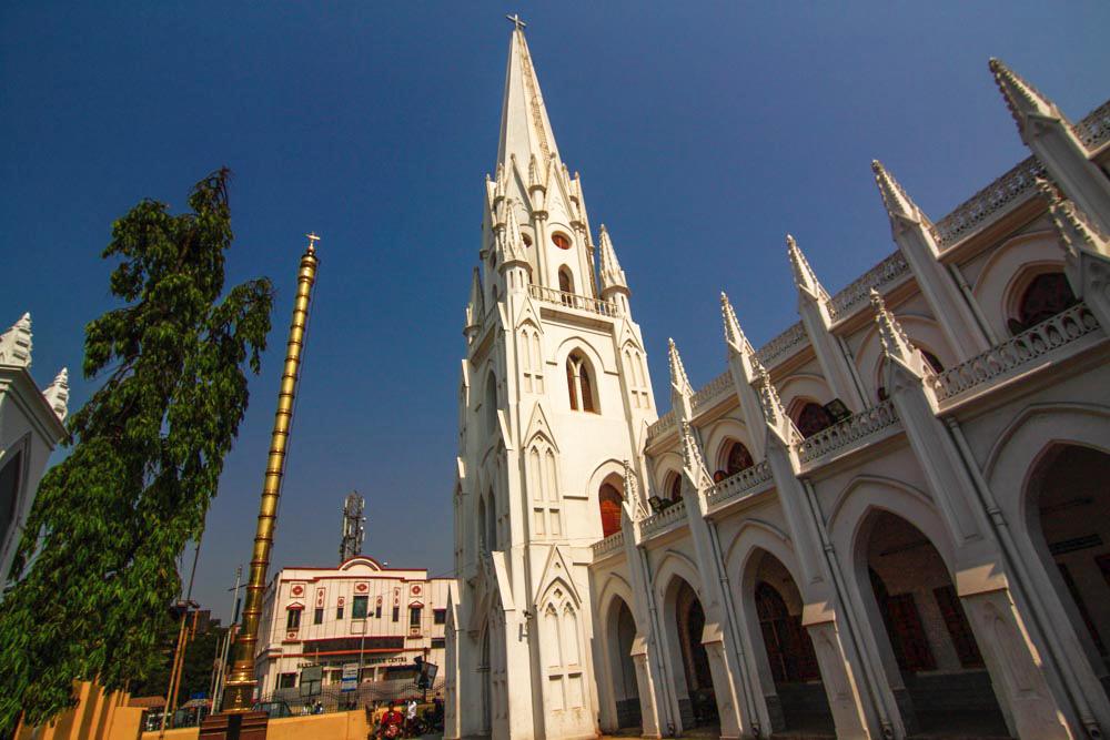 Santhome Dhwajastambha, Mylapore, Chennai