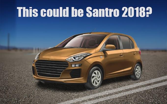 Hyundai Santro 2018 Rumors