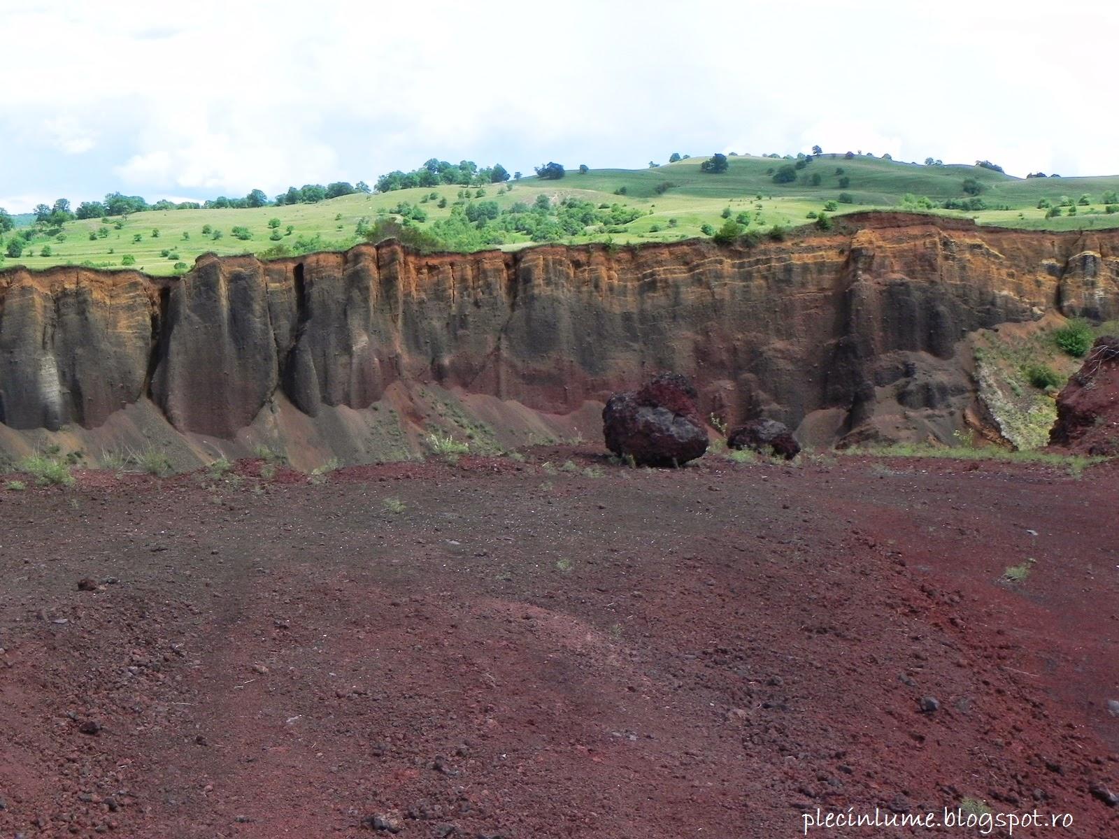 Craterul vulcanului