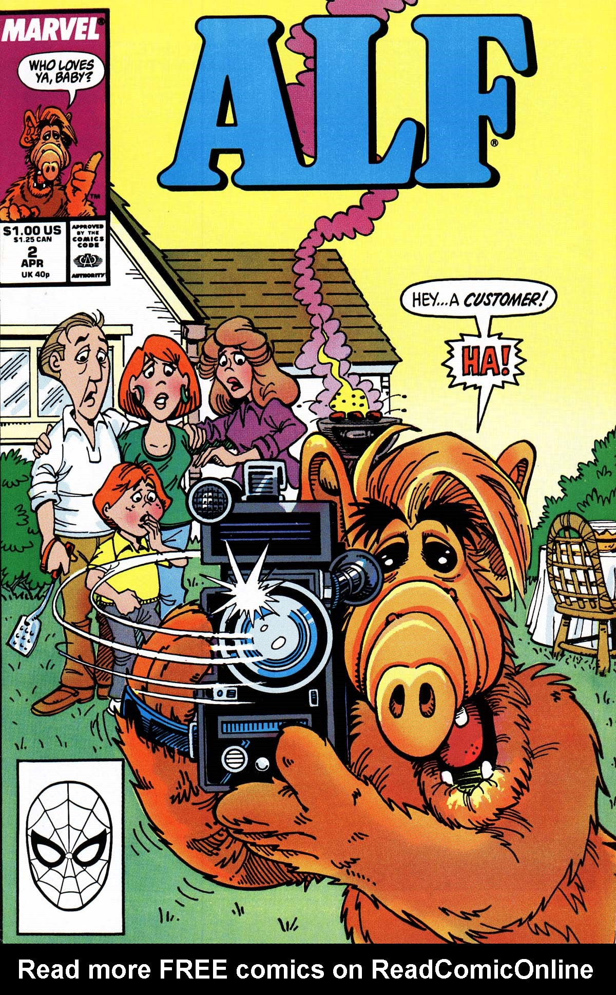 Read online ALF comic -  Issue #2 - 68