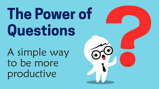 The Power of Questions, Inspiring Motivation for Artists