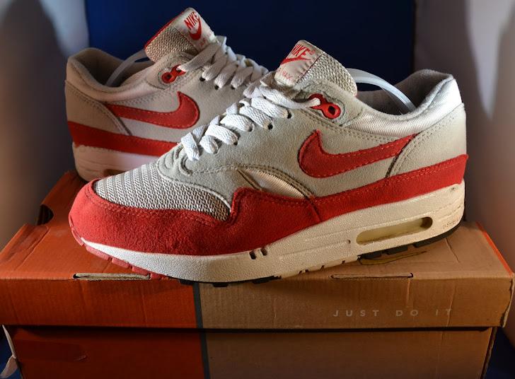 info for f4b00 9e650 Nike Air Max 1 OG Red 2002