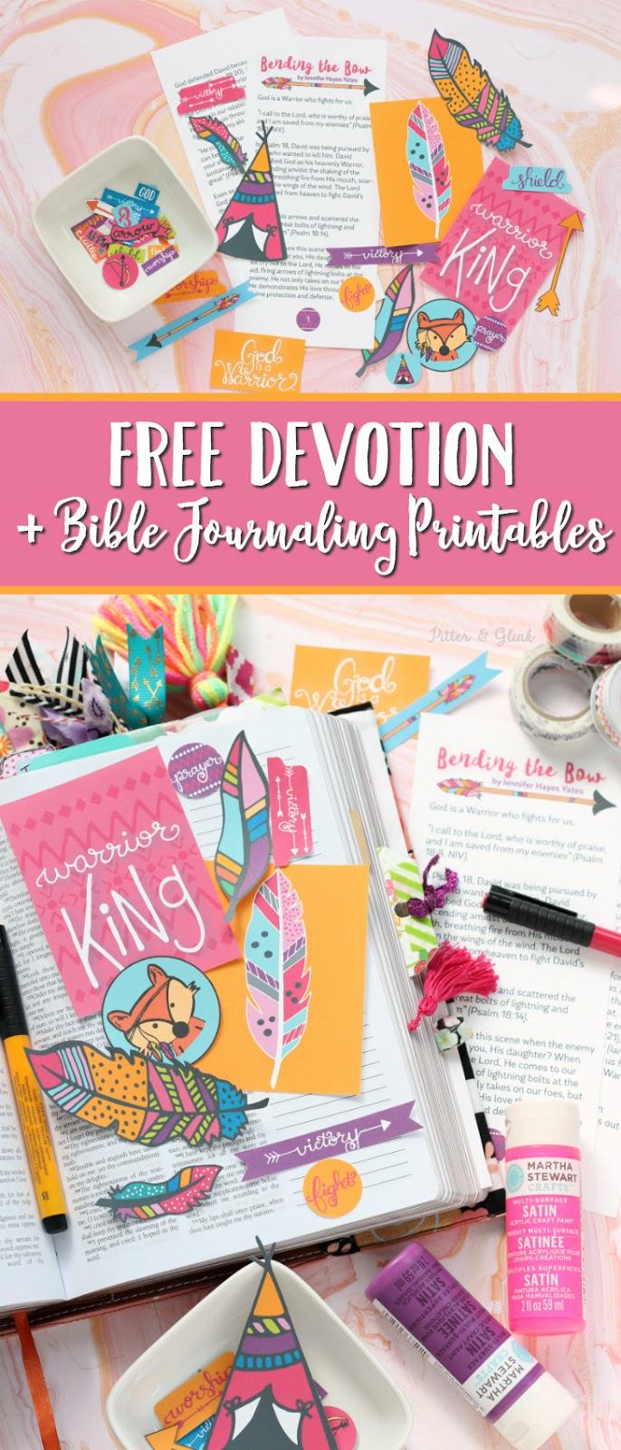 Free Devotion Printable Bible Journaling