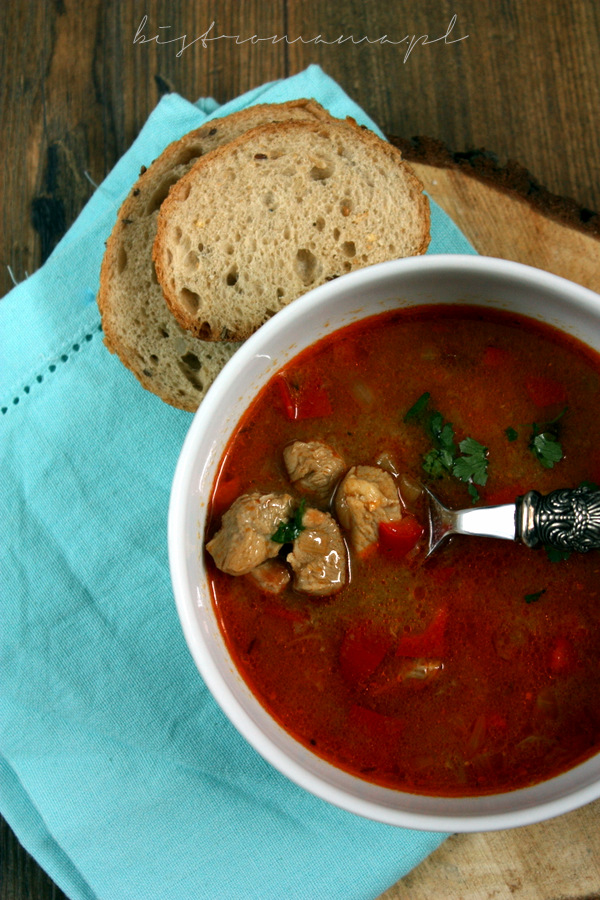 gulasz zupa