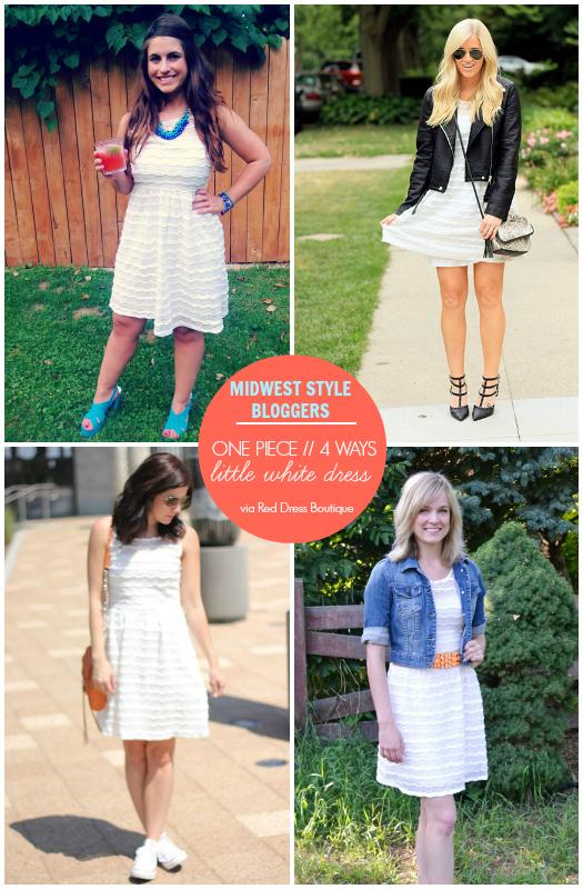 000dd80933 La Petite Fashionista  One Piece    4 Ways  Little White Dress