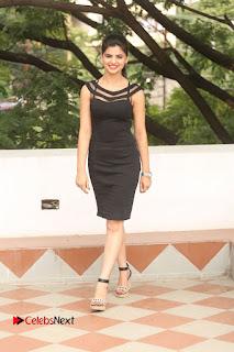 Actress Kamna Ranwat  Pictures in Black Short Dress at Selfie Raja Interview  0314