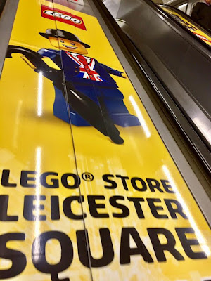 Lester in Leicester Square Station