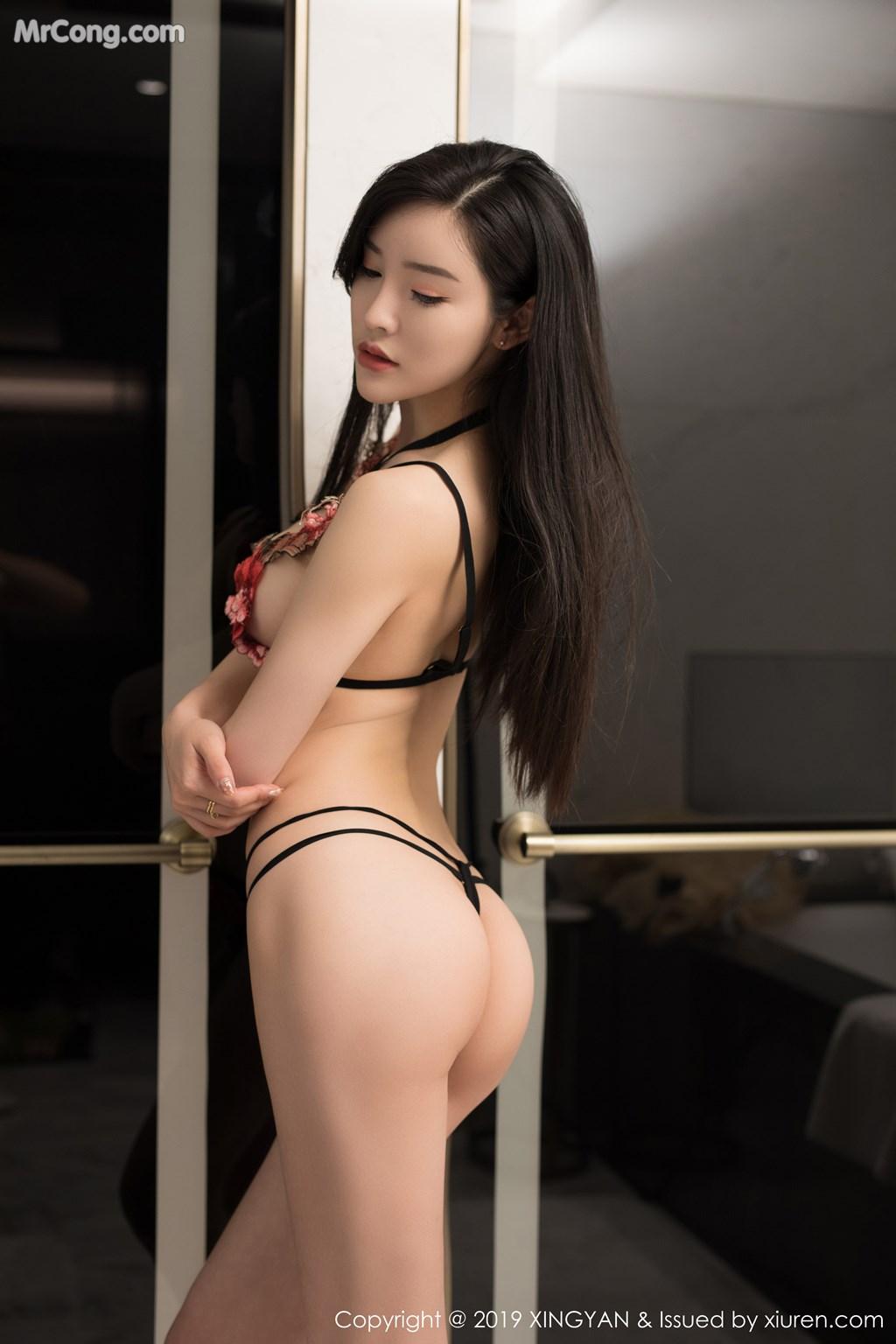 Image XingYan-Vol.121-He-Chen-Xi-MrCong.com-039 in post XingYan Vol.121: He Chen Xi (何晨曦) (49 ảnh)