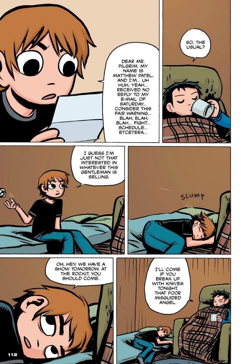 Read online Scott Pilgrim comic -  Issue #1 - 102