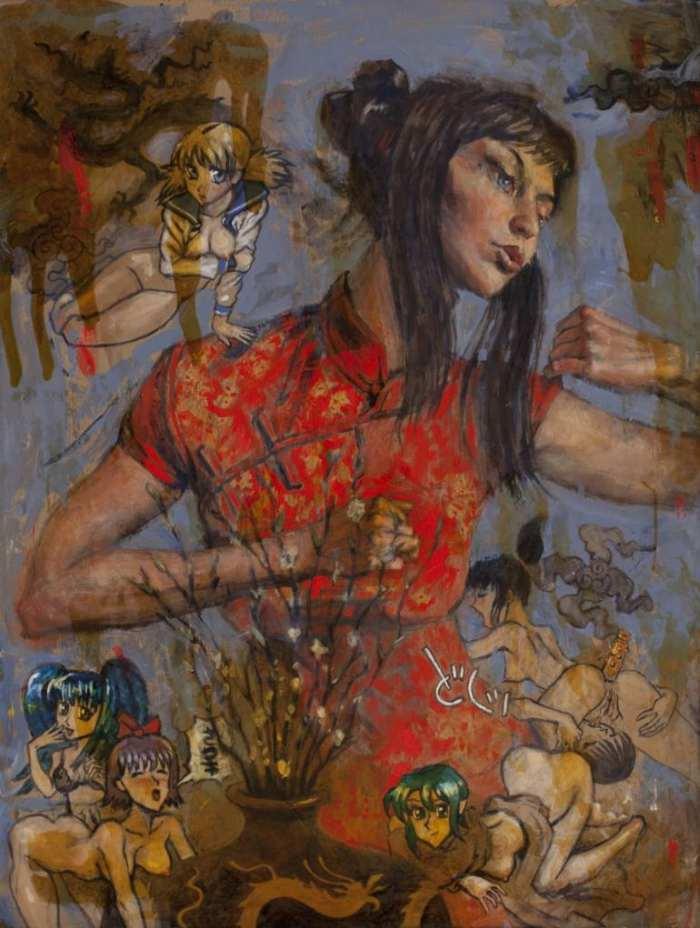 Современный американский художник. Jeff Faerber