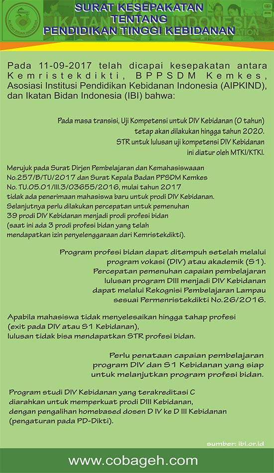 Kuliah Jurusan Program Pendidikan Profesi Bidan Murah di Lampung