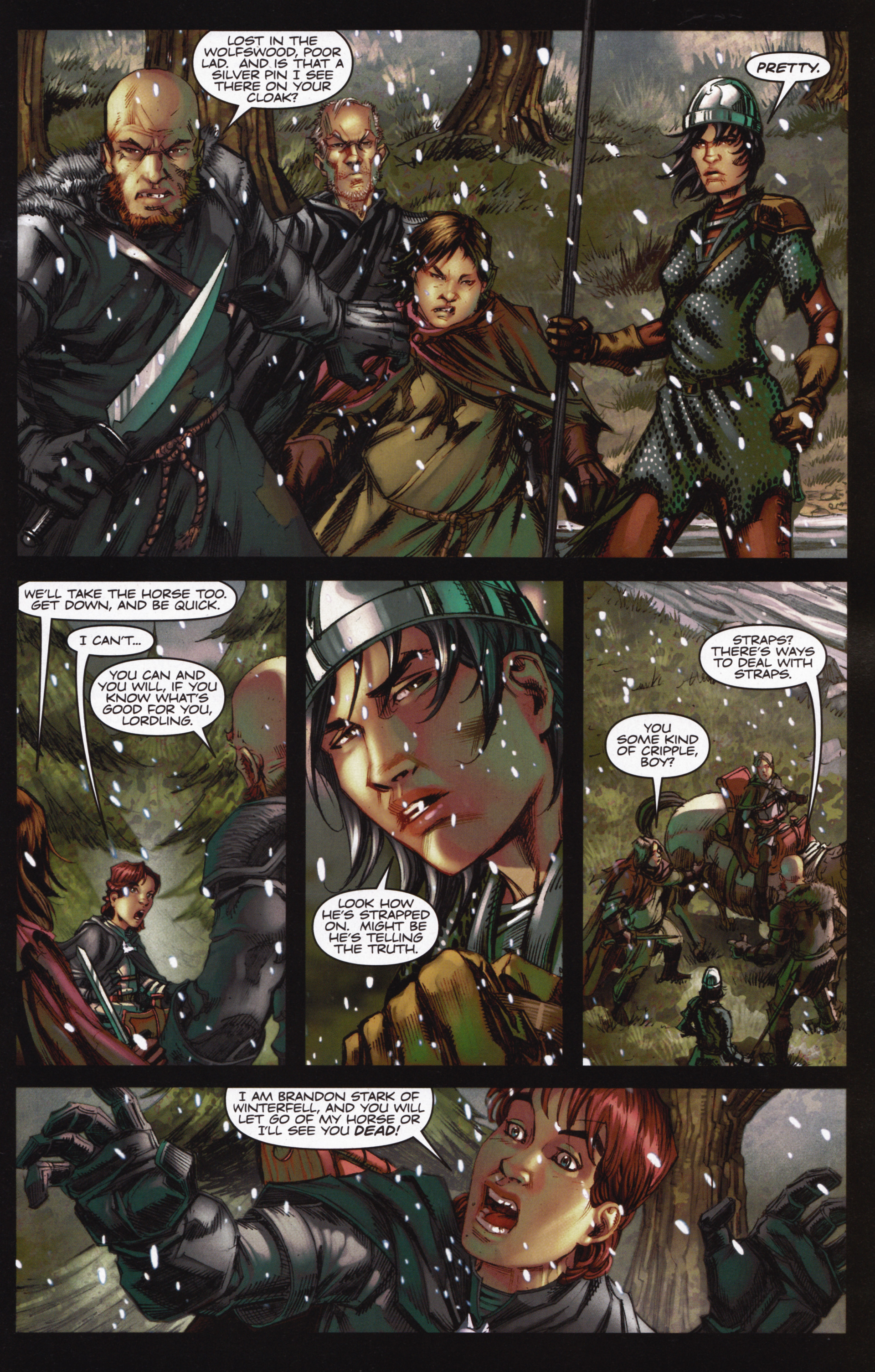 Read online A Game Of Thrones comic -  Issue #12 - 7