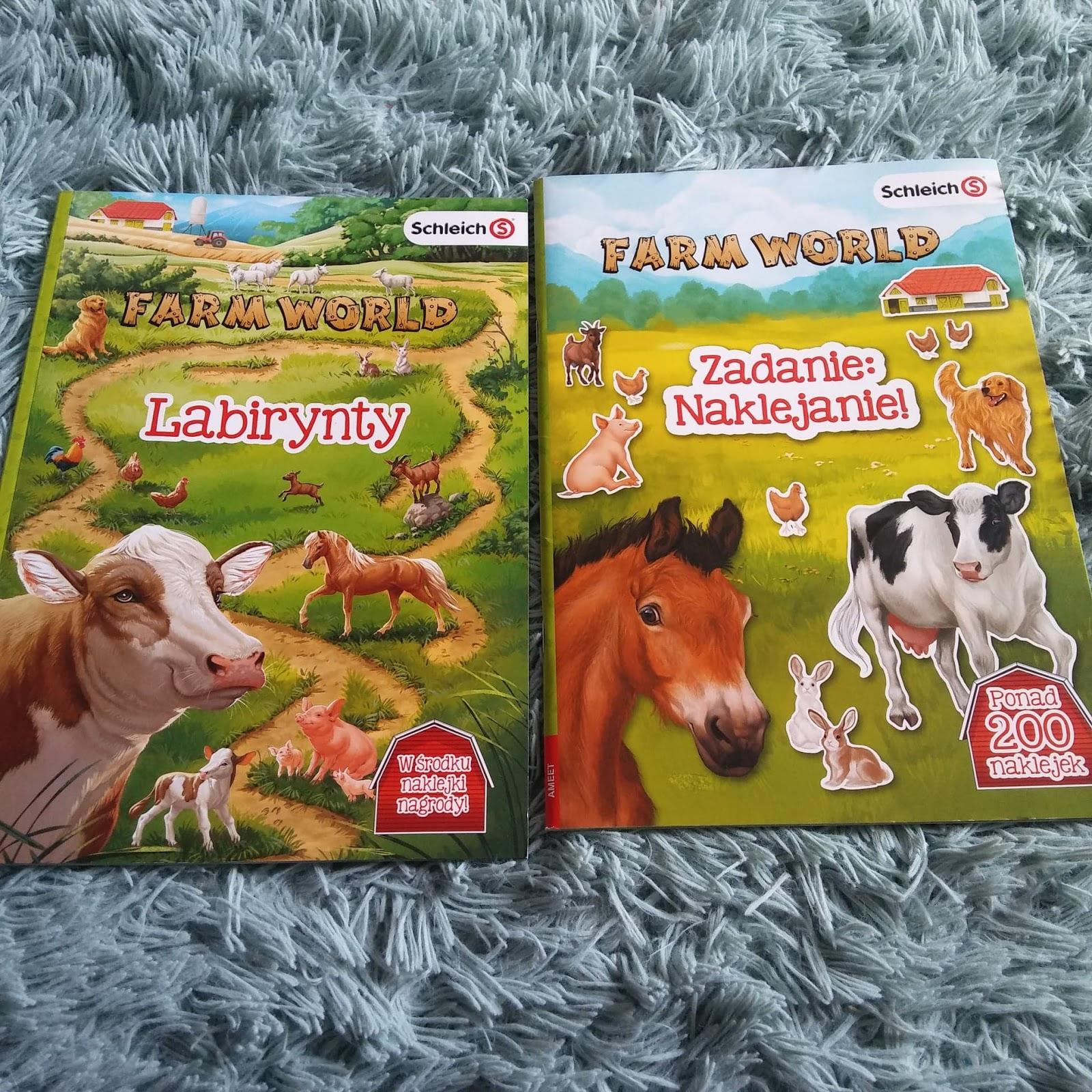 AMEET-Schleich Farm World Labirynty oraz Zadanie: naklejanie!