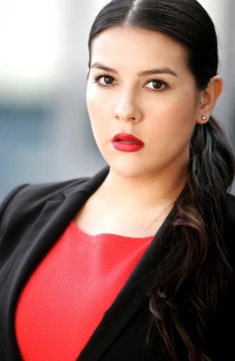 Foto de Tati - Tatiana Olaya Barrero con el cabello amarrado