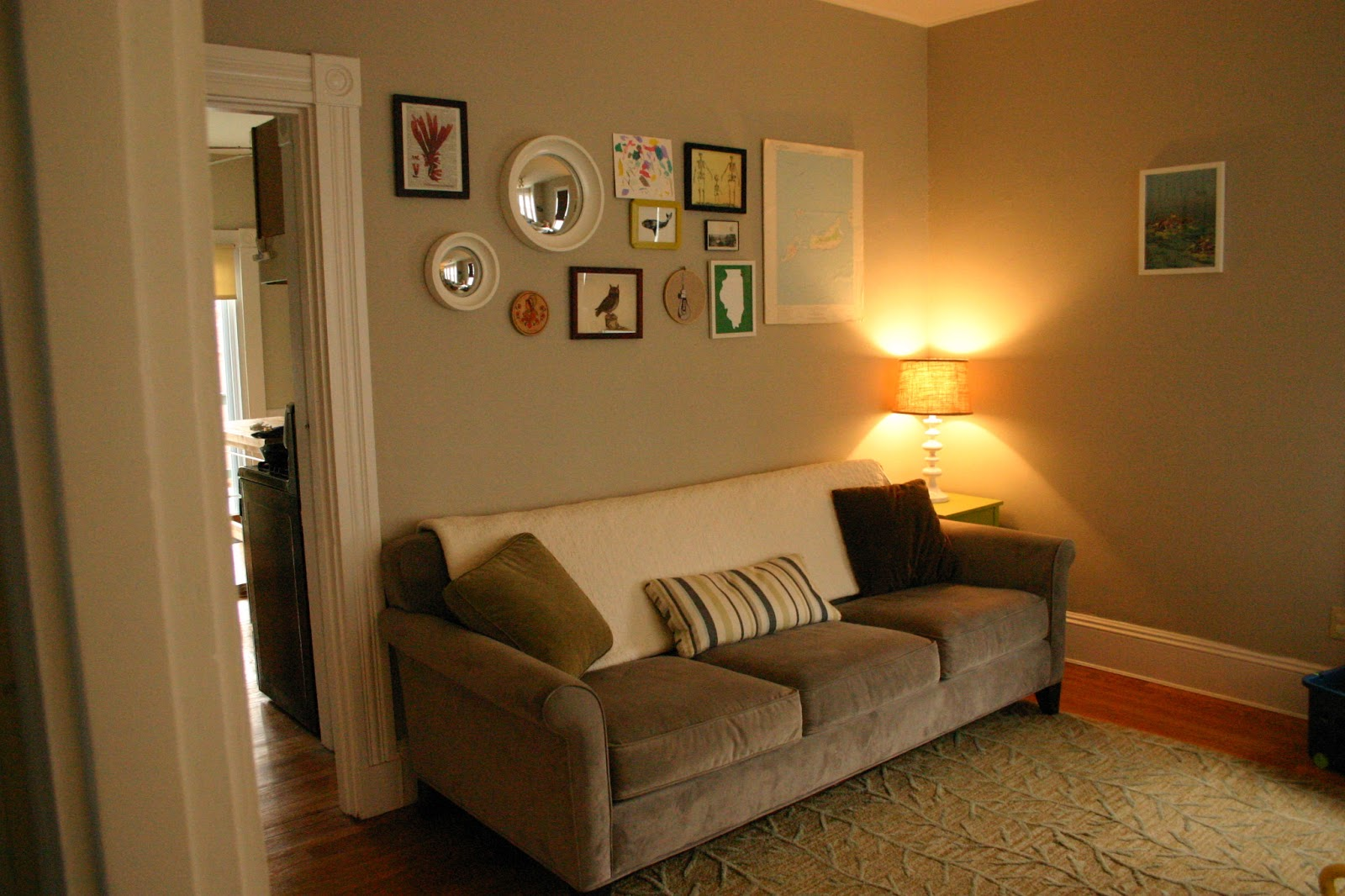 Green bicycle gray updates and other projects - Colors to paint your room ...