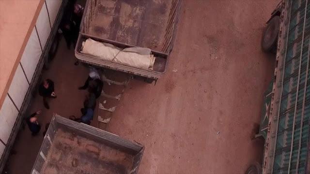 """""""Sucio secreto"""": Terroristas escapan de Siria con ayuda de EEUU"""