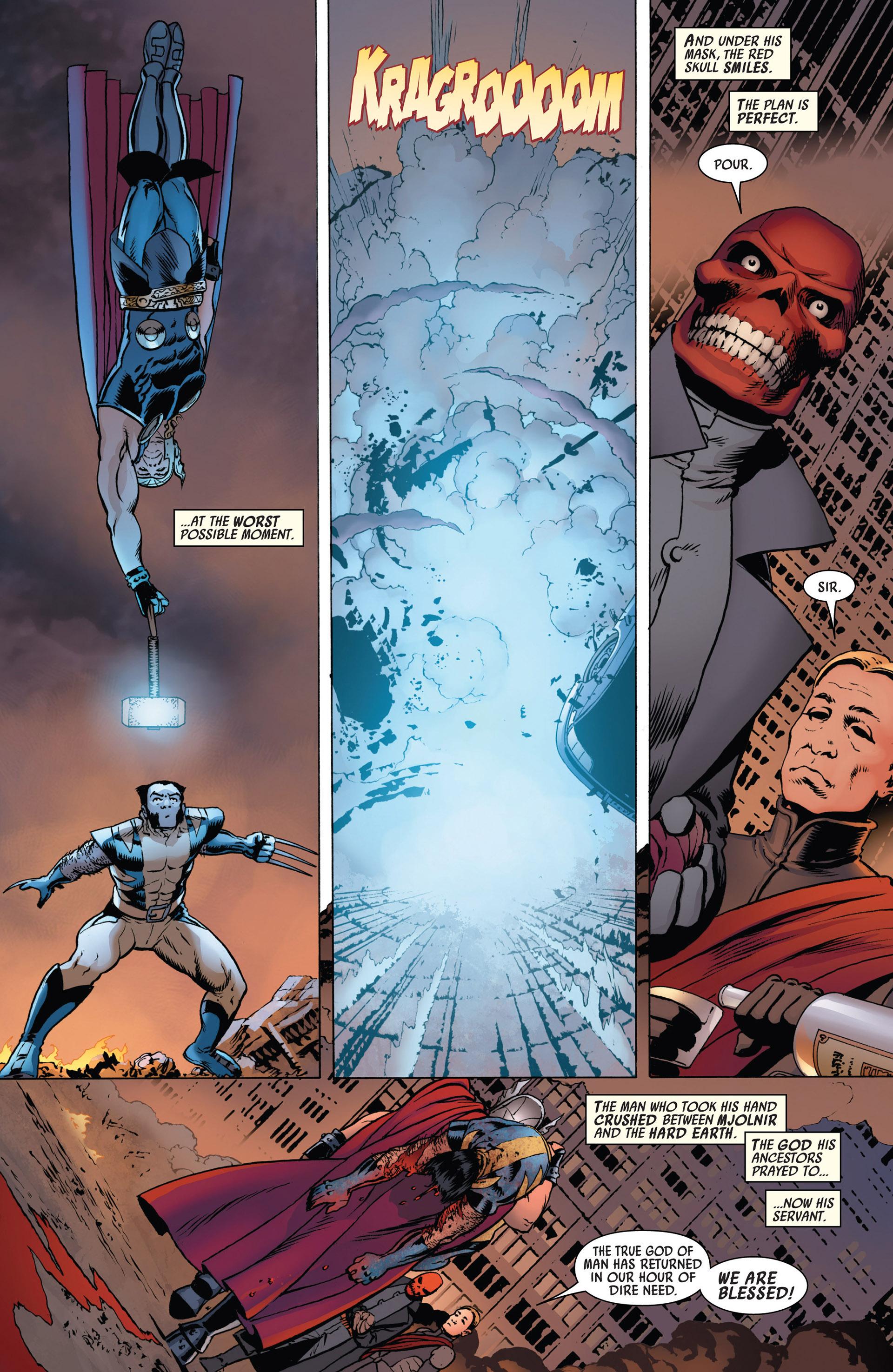 Read online Uncanny Avengers (2012) comic -  Issue #3 - 21