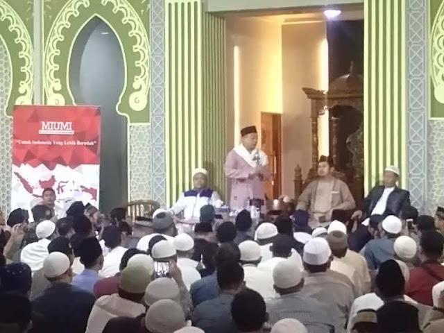 UBN: Umat Islam Jangan Mau 'Dibeli' Suaranya oleh Cukong Politik