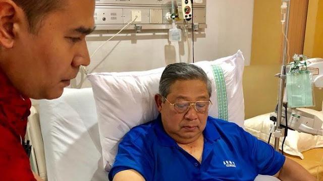 Batal Ketemuan Dengan Prabowo, SBY Didoakan Sembuh Bila Benar-benar Sakit