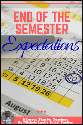 Holding high expectations for our middle and high school students at the end of the semester can be done. Read these ideas and thoughts on keeping your classroom going to the very last day. #teacher #teaching