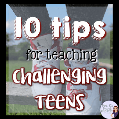 Tips for teaching challenging teens, focusing on teaching in and urban school
