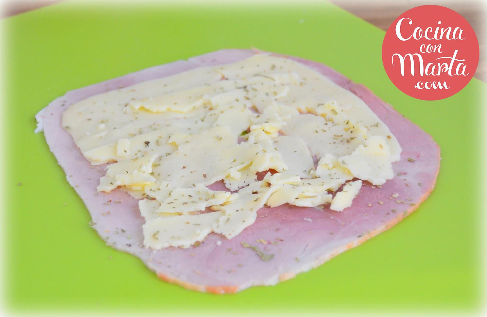 Flamenquines caseros de jamón y queso. Rápidos, sencillos y fáciles, Cocina con Marta, comida para niños, cenas