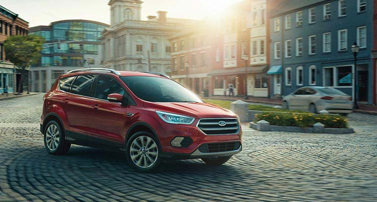 Ford Edge vs Escape 2017 Car