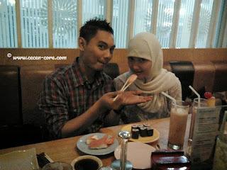 Arisandy Joan Hardiputra & Epi Friesta Dewi Hasibuan - Sushi Tei Sun Plaza Medan