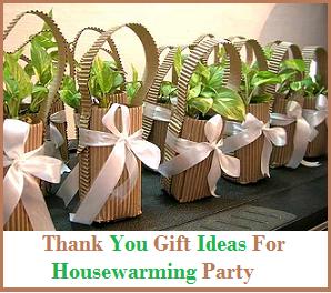 Best Gift Ideas Housewarming Favors