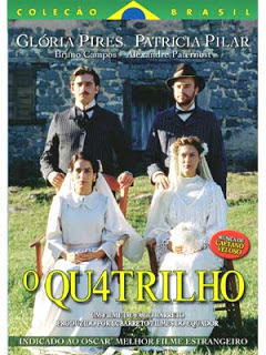 "Cartaz do filme ""O Quatrilho"""