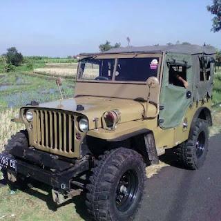 Khusus Jiwa Petualang ..Jual Jeep Willyz 1949 - BALI