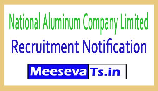 National Aluminum Company Limited NALCO Recruitment