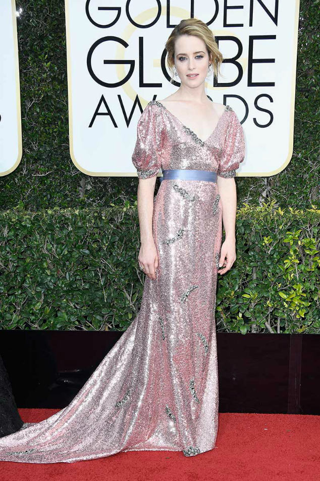 Claire Foy  Golden Globes 2017