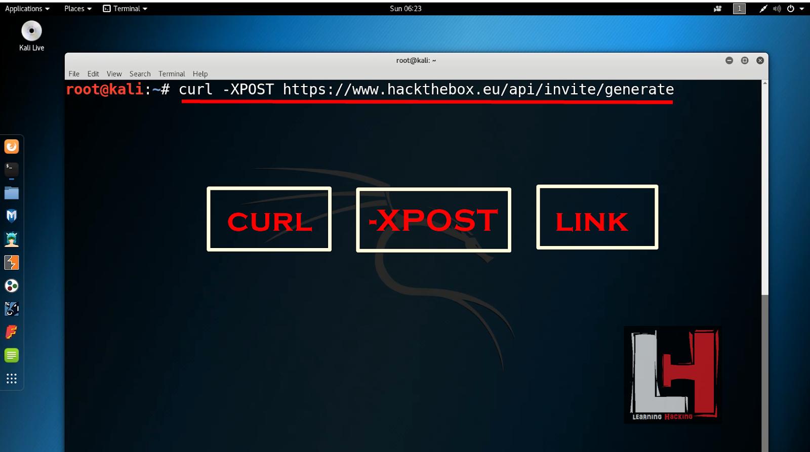 Kali 4 Hacking: Hack The Box | Hack The Box Invite Code